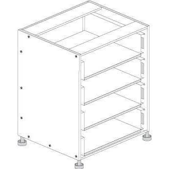 Principal Drawer Cabinet 900mm 3 Drawers Premium