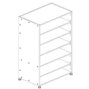 Principal Pantry Cabinet 400mm