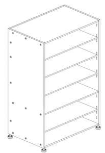 Principal Pantry Cabinet 600mm