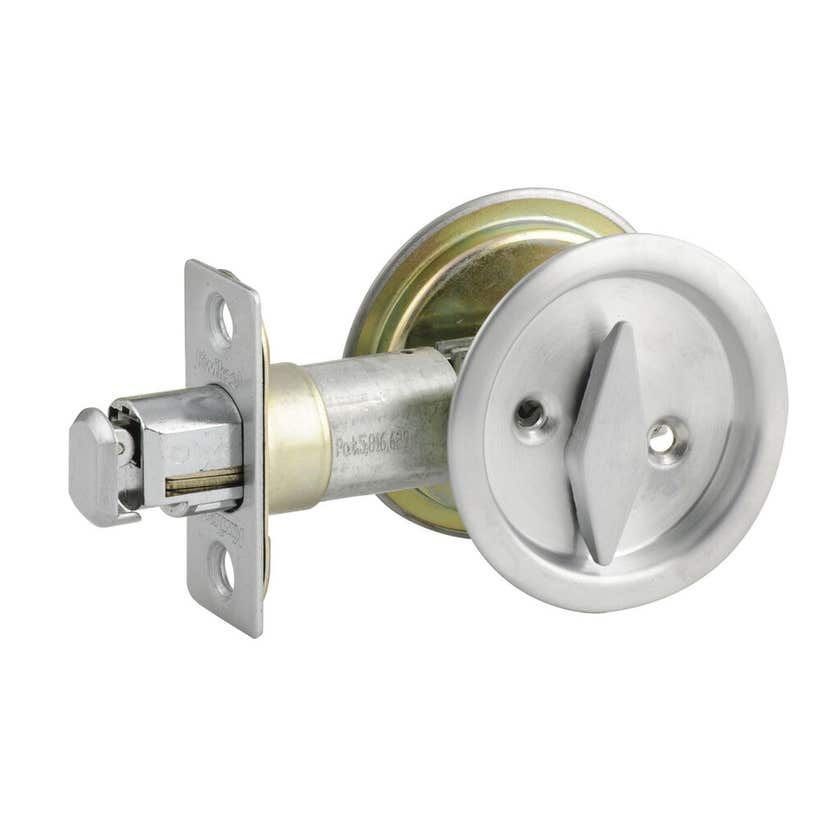Lane Upgrade Cavity Slider Privacy Satin Stainless Steel