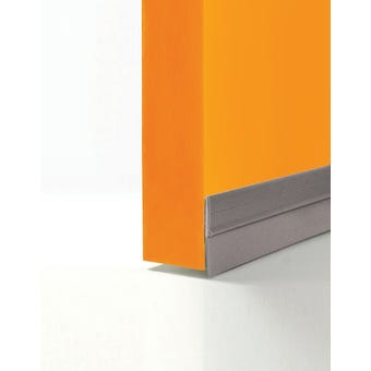 Cowdroy Extruded PVC Door Seal Grey 915mm