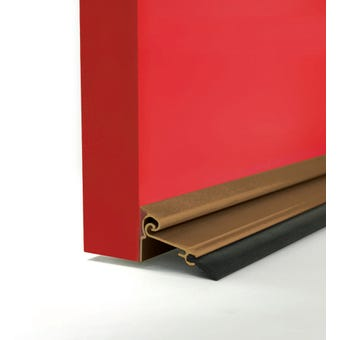 Cowdroy Anodised Automatic Door Seal Bronze 915mm