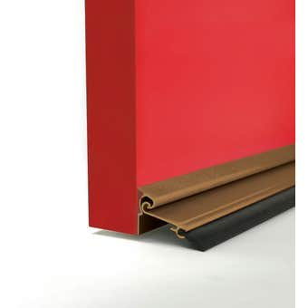 Cowdroy Anodised Automatic Door Seal Bronze 1220mm