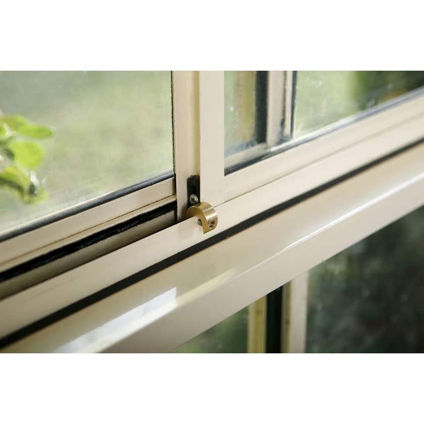 Dreambaby Sliding Window Locks with Key Brass - 2 Pack
