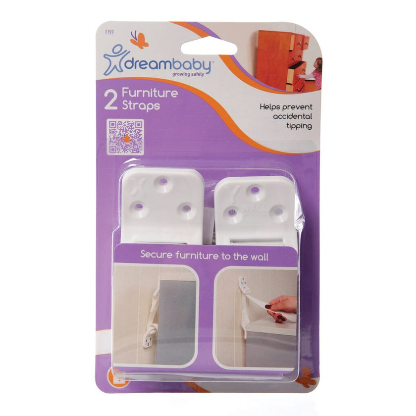 Dreambaby Furniture Straps - 2 pack
