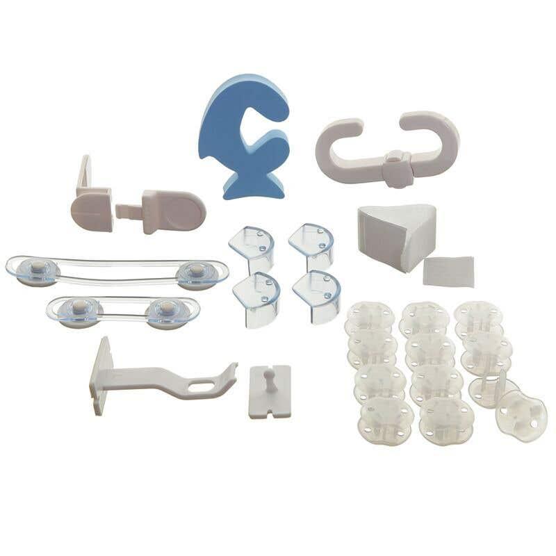 Dreambaby No Tools No Screws Safety Kit - 35 Pieces