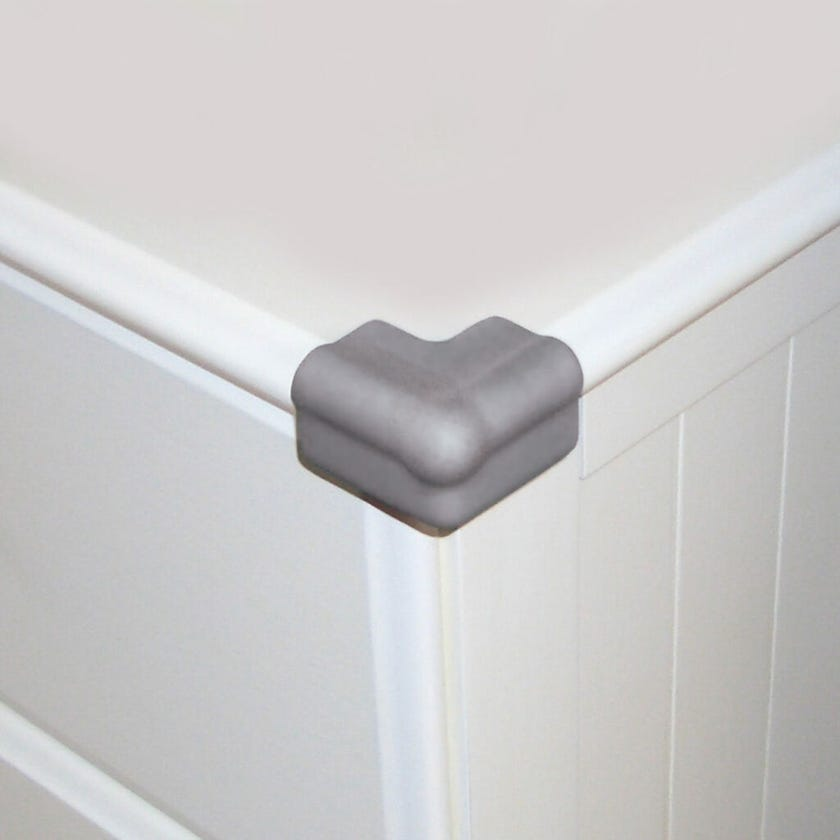 Dreambaby Foam Corner Bumpers Grey - 4 Pack