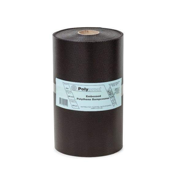 Polyproof Embossed Polythene Dampcourse 150mm x 30m x 500um
