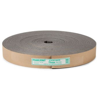 Adhesive Polyethylene Expansion Jointing 75mm x 10mm x 25m
