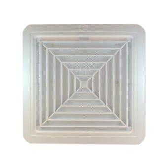 Haron Plastic Ceiling Vent White 300x300mm