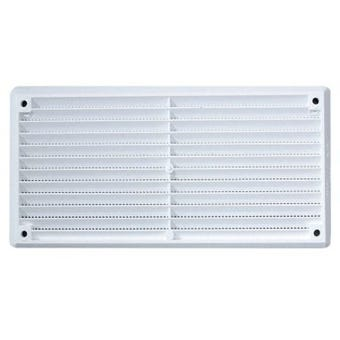 Haron Cupboard Vent Plastic White 150 x 75mm