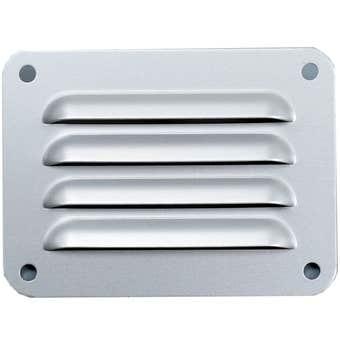 Haron Aluminium Pressed Vent Silver 100 x 75mm
