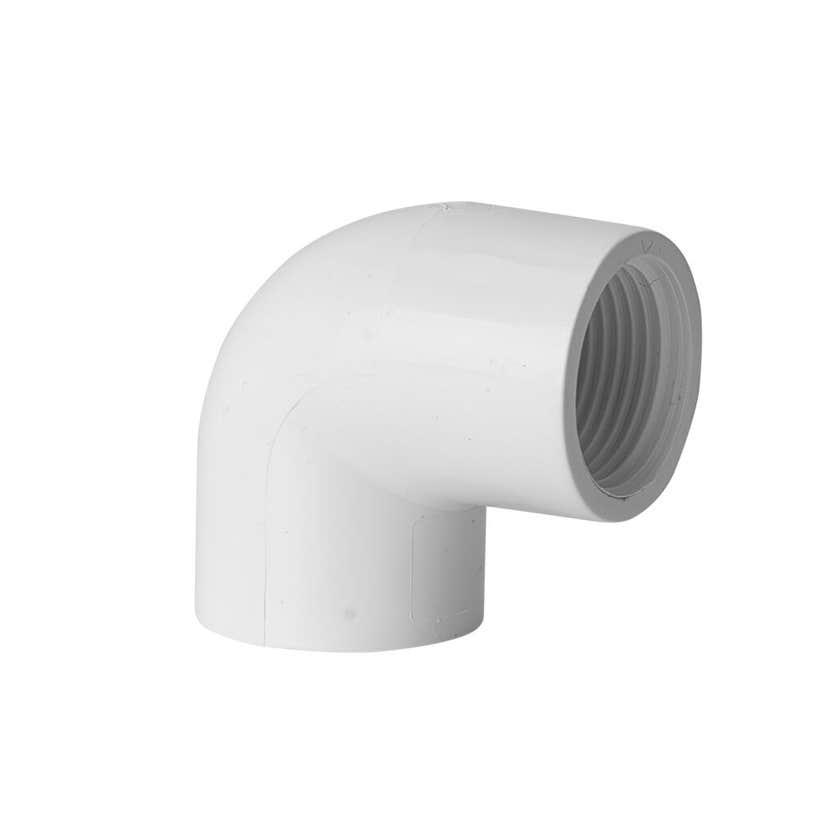 "Holman PVC Pressure Faucet Elbow 20mm x 3/4"" 90 Deg"