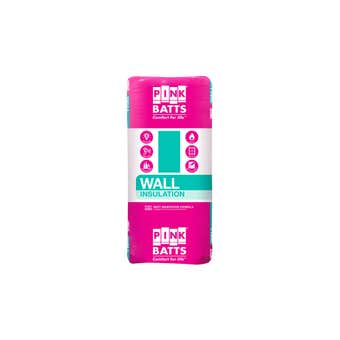 Pink Batts R2.0 Insulation Wall Batts 1160 x 430mm Pack 24