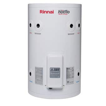 Rinnai Hotflo Electric Hot Water Storage Tank Soft Water 3.6kW 50L