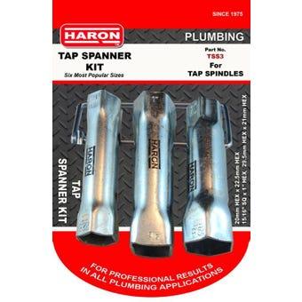 Haron Tap Spanner Kit - Set of 3