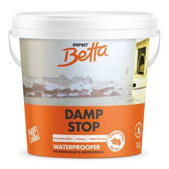 Gripset Betta Damp Stop Waterproofing Primer 1L
