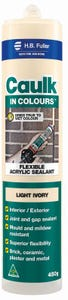HB Fuller Caulk In Colours™ Light Ivory 450g