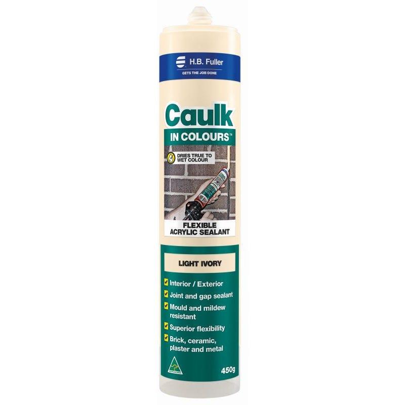 HB Fuller Caulk In Colours™ Light Ivory 450g