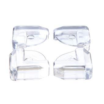 Dreambaby Glass Table & Shelf Corner Cushions - 4 Pack