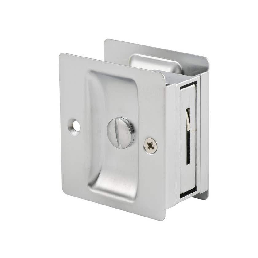 Lane Privacy Standard Cavity Slider Satin Chrome Plated