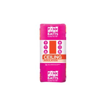 Pink Batts R3.5 Insulation Ceiling Batts 1160 x 580mm Pack 10