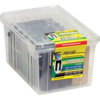 Macsim Window Packers 90mm Mixed - Box of 90