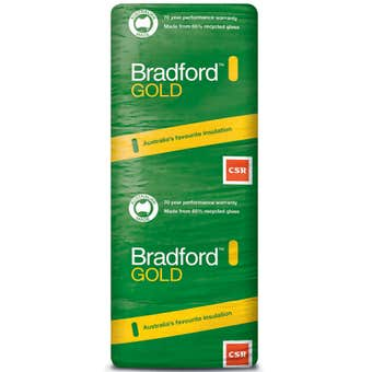 Bradford Gold R4.1 Ceiling Insulation Batts 1160 x 430 x 215mm - 10 Pack