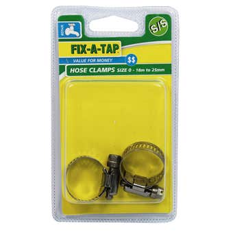FIX-A-TAP Stainless Steel Hose Clamps Size 0