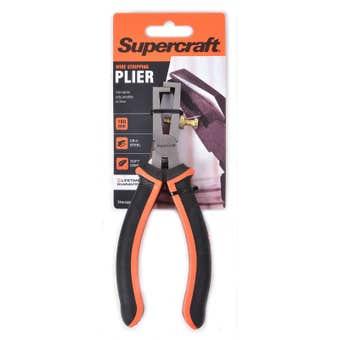 Supercraft Soft Grip Wire Stripping Plier 160mm