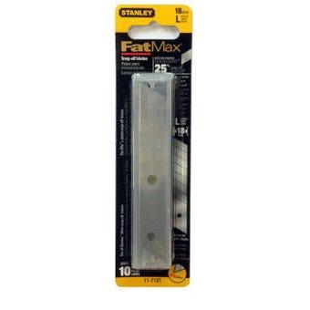 Stanley FatMax Snap Blade 18mm 10 Pack
