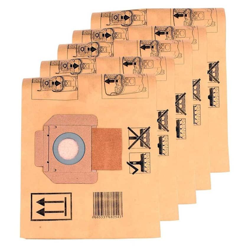 Makita Vacuum Filter Bags - 5 Pack