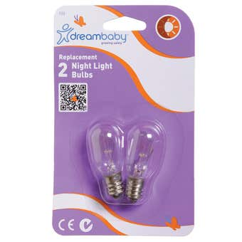 Dreambaby Replacement Night Light Bulbs - 2 Pack