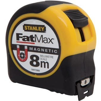 Stanley FatMax Magnetic Tape 8m