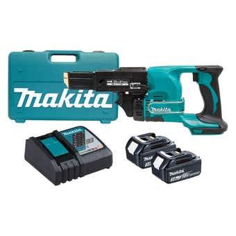 Makita 18V Autofeed Screwdriver Kit DFR450RFEX