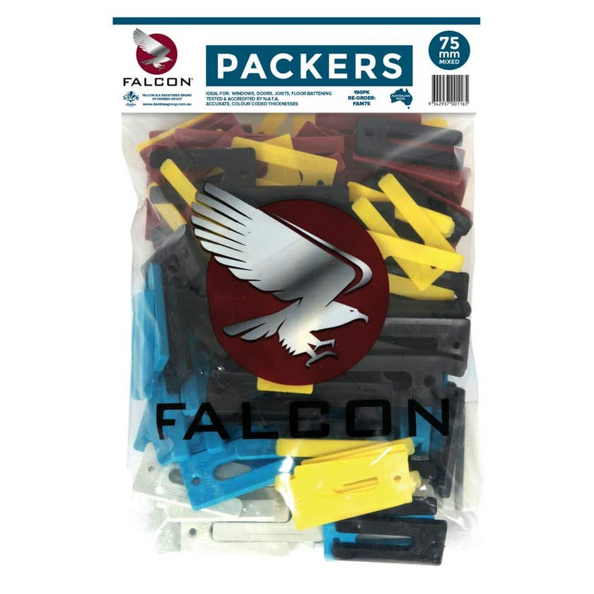 Falcon Packers Mixed Bag 75mm - 190 pack
