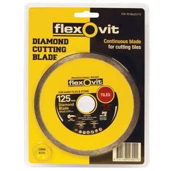 Flexovit Tile Diamond Blade 125mm