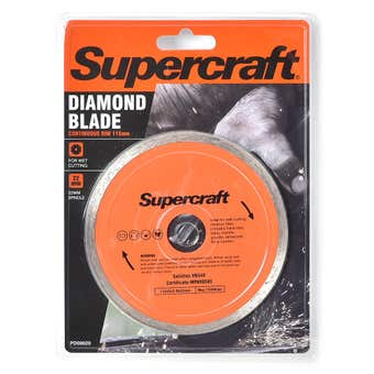 Supercraft Blade Diamond Continuous 115mm