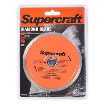 Supercraft Blade Diamond Continuous 125mm