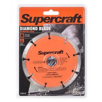 Supercraft Diamond Blade Segmented 125mm