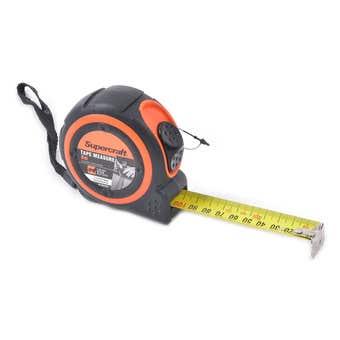 Supercraft Tape Measure 8m