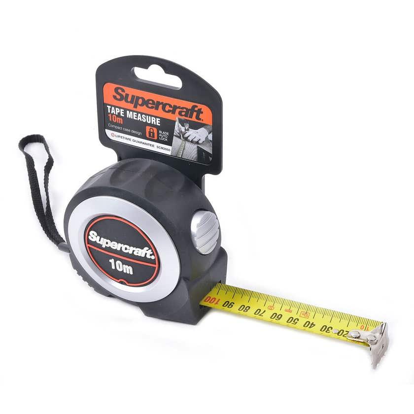 Supercraft Tape Measure Anodised 10m