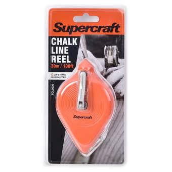 Supercraft Chalk Line Reel 30m