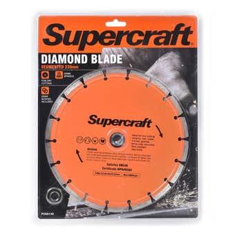 Supercraft Segmented Diamond Blade 230mm