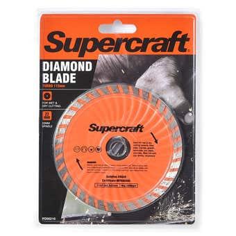 Supercraft Turbo Diamond Blade 115mm
