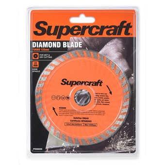 Supercraft Diamond Blade Turbo 125mm