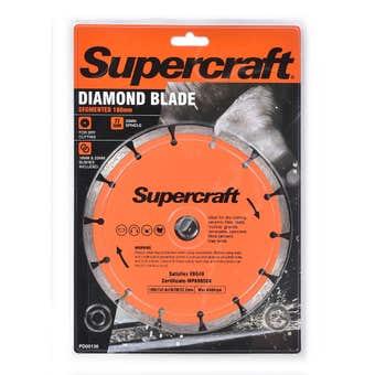 Supercraft Segmented Diamond Blade 180mm
