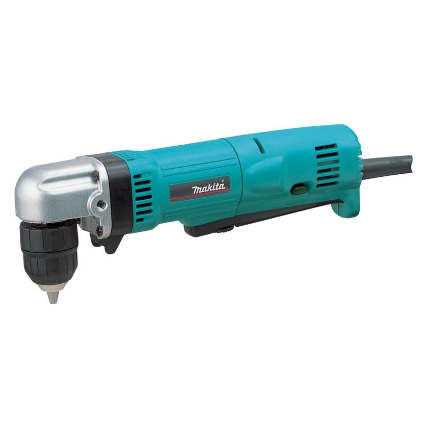 Makita 450W Angle Drill Driver with Keyless Chuck 10mm