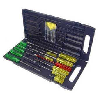 Screwdriver Set with Precision Set - 19 Piece
