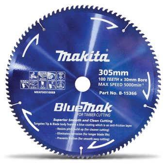 Makita Bluemak TCT Circular Saw Blade for Timber
